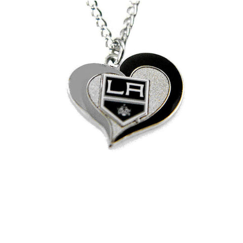 Necklace - Los Angeles Kings Women's Swirl Heart Necklace
