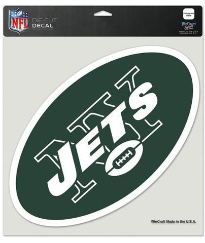 "New York Jets Die-Cut Decal - 8""x8"" Color"