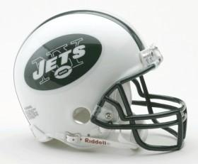 New York Jets Replica Mini Helmet W/ Z2B Face Mask