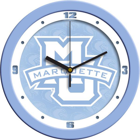 Marquette Golden Eagles Baby Blue Wall Clock