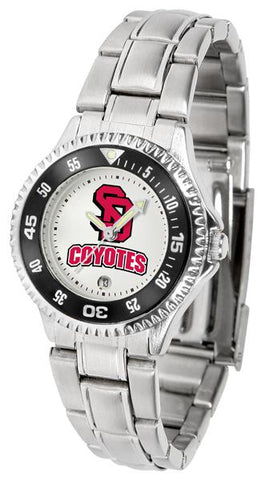 South Dakota Coyotes Competitor Ladies Steel Watch
