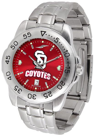 South Dakota Coyotes Sport Steel AnoChrome Watch