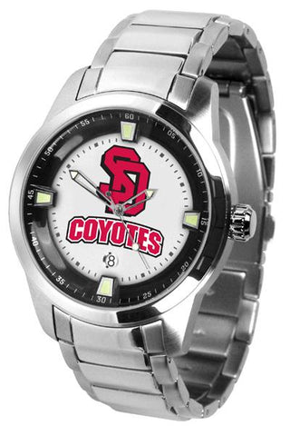 South Dakota Coyotes Titan Steel Watch