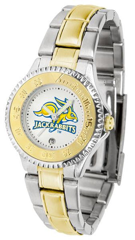 South Dakota State Jackrabbits Competitor Ladies Two-Tone Watch