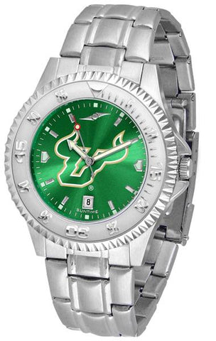 South Florida Bulls Competitor Steel AnoChrome Watch