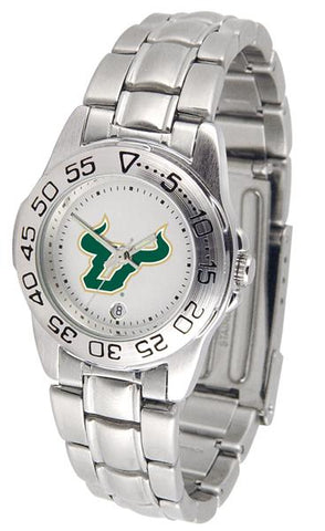 South Florida Bulls Ladies' Sport Steel Watch