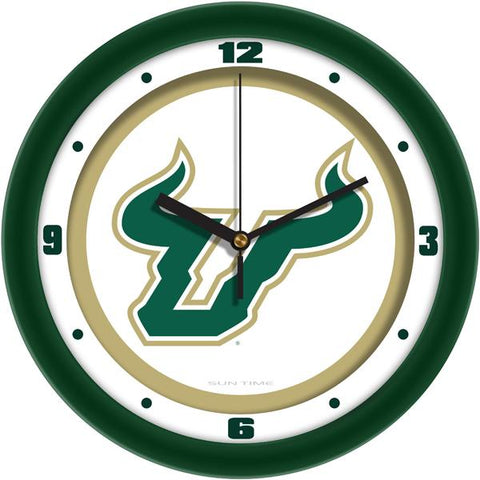 South Florida Bulls Traditional Wall Clock
