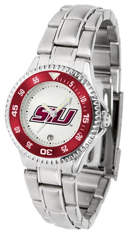 Southern Illinois Salukis Competitor Ladies Steel Watch