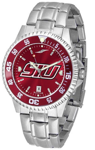 Southern Illinois Salukis Competitor Steel AnoChrom Watch