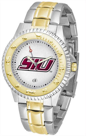 Southern Illinois Salukis Competitor Two-Tone Watch