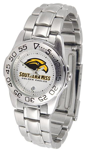 Southern Mississippi Eagles Ladies' Sport Steel Watch