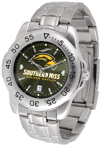 Southern Mississippi Eagles Sport Steel AnoChrome Watch
