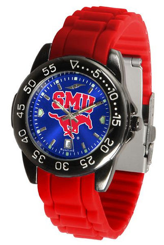 Southern Methodist University Mustangs FantomSport AC AnoChrome  Watch