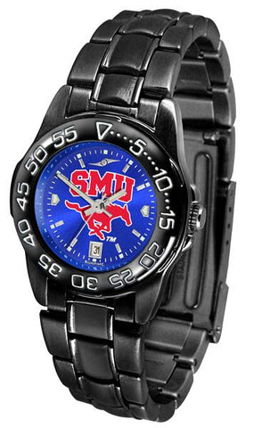 Southern Methodist University Mustangs Ladies FantomSport AnoChrome Watch