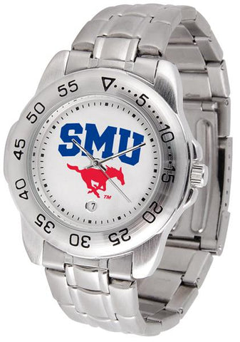 Southern Methodist University Mustangs Sport Steel Watch