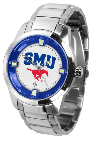 Southern Methodist University Mustangs Titan Steel Watch
