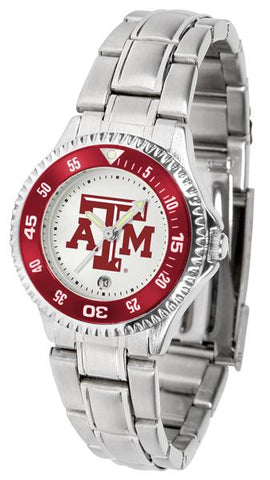 Texas A&M Aggies Competitor Ladies Steel Watch