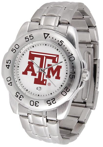 Texas A&M Aggies Sport Steel Watch