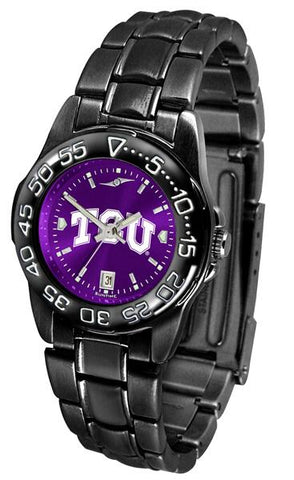 Texas Christian Horned Frogs Ladies FantomSport AnoChrome Watch