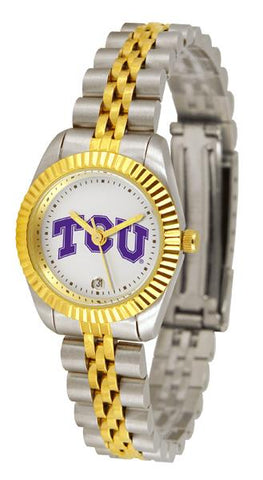 Texas Christian Horned Frogs Ladies' Executive Watch