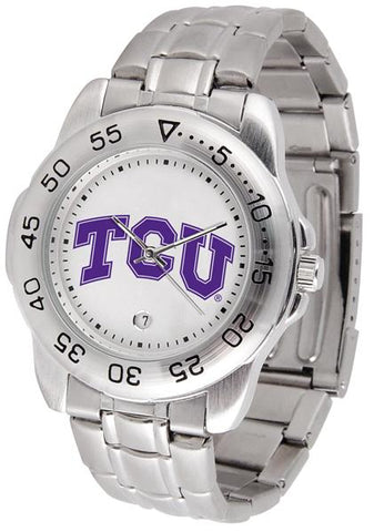 Texas Christian Horned Frogs Sport Steel Watch