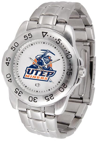 Texas El Paso Miners Sport Steel Watch