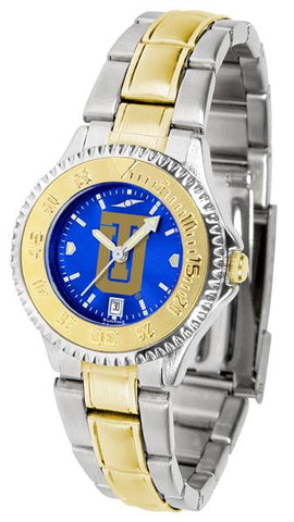 Tulsa Golden Hurricane Competitor Ladies Two-Tone AnoChrome Watch