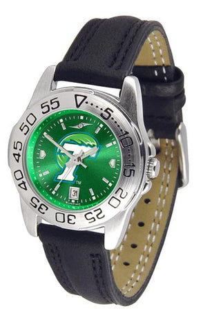 Tulane University Green Wave Ladies' Sport AnoChrome Watch