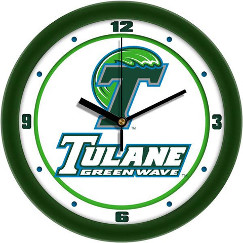 Tulane University Green Wave Traditional Wall Clock