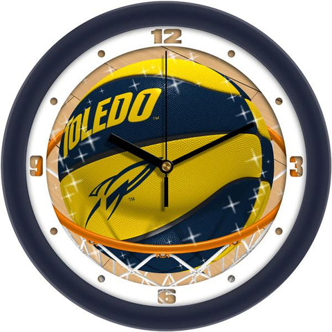 Toledo Rockets Slam Dunk Wall Clock