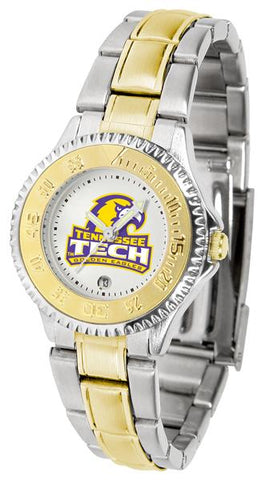 Tennessee Tech Eagles Competitor Ladies Two-Tone Watch
