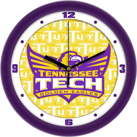 Tennessee Tech Eagles Dimension Wall Clock