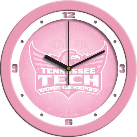 Tennessee Tech Eagles Pink Wall Clock