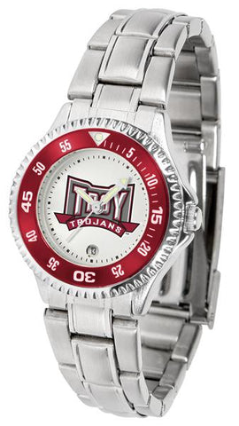 Troy Trojans Competitor Ladies Steel Watch