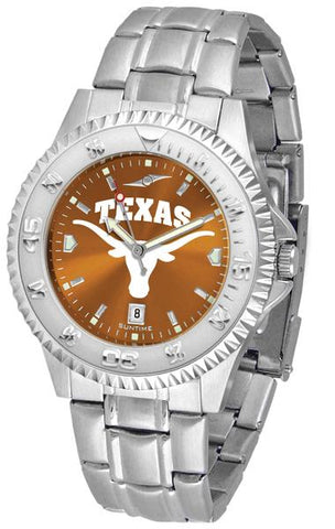 Texas Longhorns Competitor Steel AnoChrome Watch