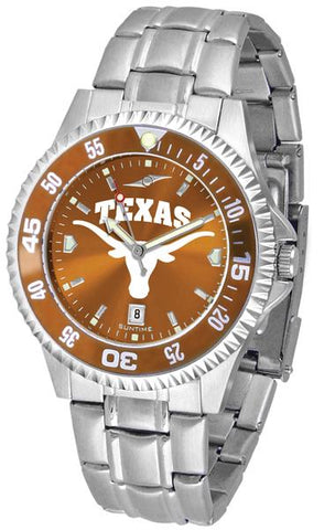 Texas Longhorns Competitor Steel AnoChrom Watch