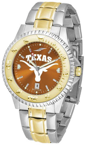 Texas Longhorns Competitor Two-Tone AnoChrome Watch
