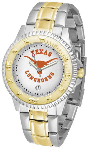 Texas Longhorns Competitor Two-Tone Watch