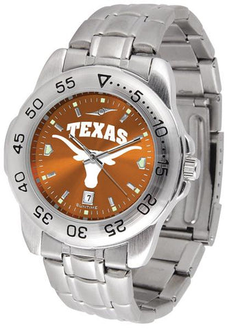 Texas Longhorns Sport Steel AnoChrome Watch