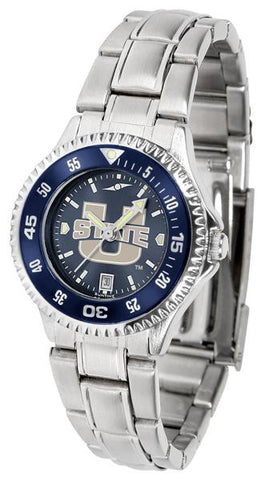 Utah State University Aggies Competitor Ladies' Steel AnoChrom Watch