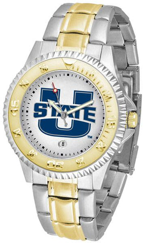 Utah State University Aggies Competitor Two-Tone Watch