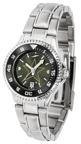 Vanderbilt Commodores Competitor Ladies' Steel AnoChrom Watch