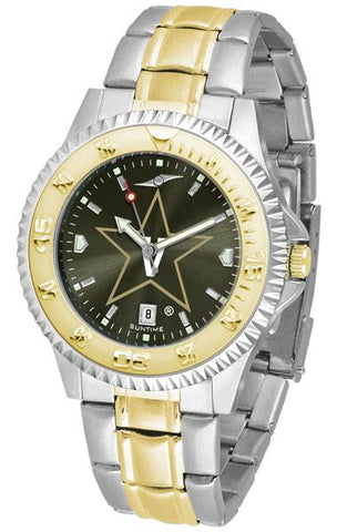 Vanderbilt Commodores Competitor Two-Tone AnoChrome Watch