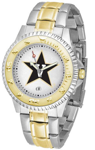 Vanderbilt Commodores Competitor Two-Tone Watch