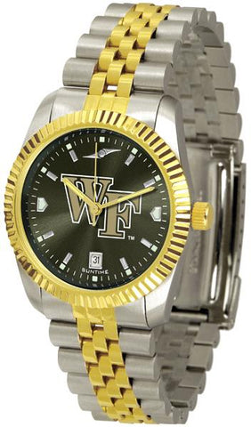 Wake Forest Demon Deacons Men's Executive AnoChrome Watch