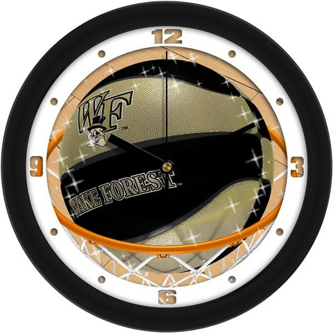 Wake Forest Demon Deacons Slam Dunk Wall Clock
