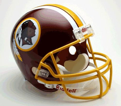Washington Redskins Deluxe Replica Helmet
