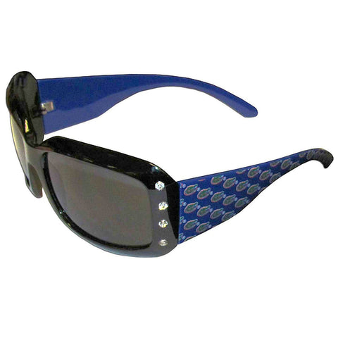 WSunglasses - Florida Gators NCAA Women's Rhinestone Designer Sunglasses