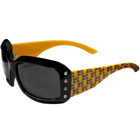 WSunglasses - Missouri Tigers NCAA Women's Rhinestone Designer Sunglasses