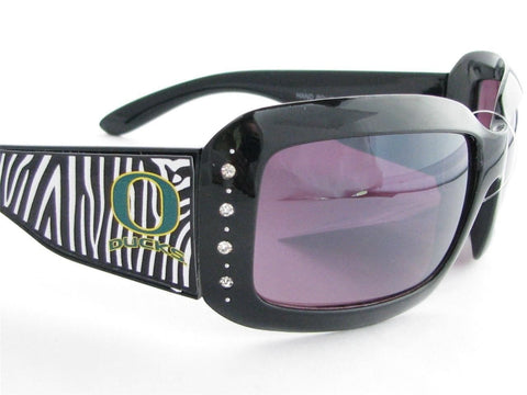 WSunglasses - Oregon Ducks Zebra Womens Sunglasses
